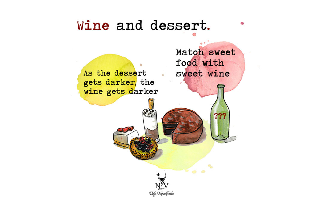 How to match wine and dessert: two general rules