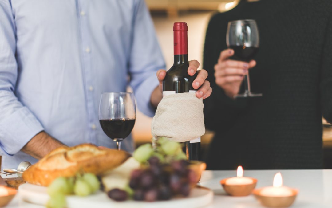 How many calories are in a bottle of red wine? Here's how to find out