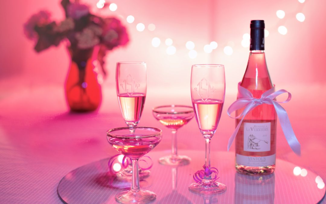 Origin and names of French and Italian rose wines