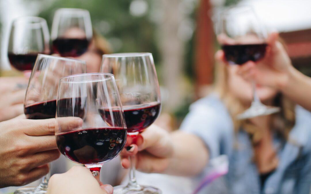 Did you say free wine? Check the Italian wine fountain